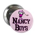 Button. Nancy Boys Ice Hockey Team