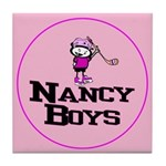 Tile Coaster. Nancy Boys Ice Hockey Team