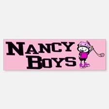 Bumper Sticker. Nancy Boys Ice Hockey Team