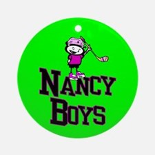 Christmas Ornament (Round). Nancy Boys