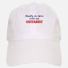 Madly in love with my Guitarist Baseball Baseball Cap