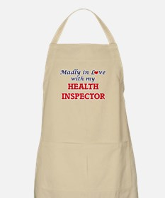 Madly in love with my Health Inspector Apron