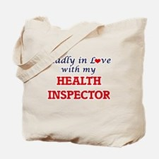 Madly in love with my Health Inspector Tote Bag