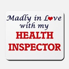 Madly in love with my Health Inspector Mousepad