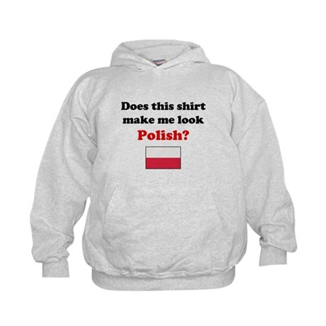 Make Me Look Polish Kids Hoodie