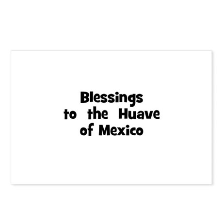 Blessings to the Huave of Postcards (Package o