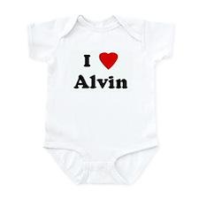 I Love Alvin Infant Bodysuit