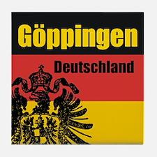 Göppingen Deutschland Tile Coaster