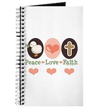 Peace Love Faith Christian Journal
