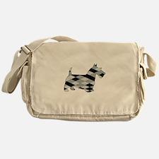 Scottish Terrier Messenger Bag