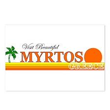 Visit Beautiful Myrtos, Greec Postcards (Package o