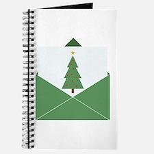 Christmas Card Journal