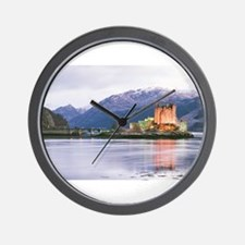 Unique Scottish castle Wall Clock