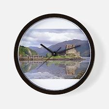 Unique Castles Wall Clock