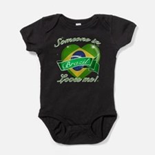 Brazil Flag Design Body Suit