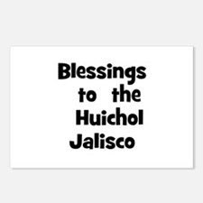 Blessings  to  the  Huichol J Postcards (Package o