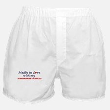 Madly in love with my Lawn Sprinkler Boxer Shorts