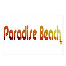 Paradise Beach, Greece Postcards (Package of 8)