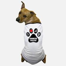 I love my Chinese Crested Dog Dog T-Shirt