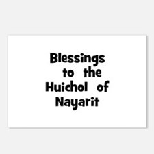 Blessings  to  the  Huichol   Postcards (Package o
