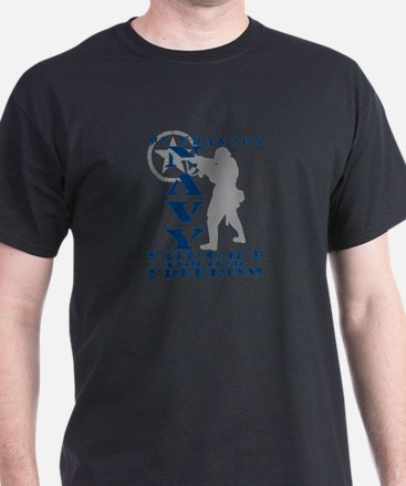 Grndpa Fought Freedom - NAVY  T-Shirt