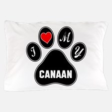 I love my Canaan Dog Pillow Case