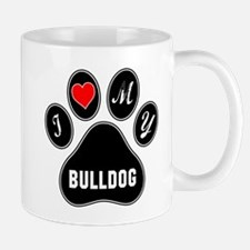 I love my Bulldog Mug