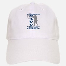Grnddghtr Fought Freedom - NAVY Baseball Baseball Cap