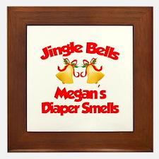 Megan - Jingle Bells Framed Tile