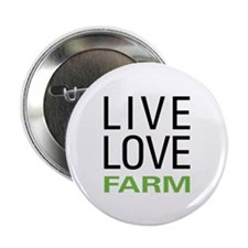 "Live Love Farm 2.25"" Button (100 pack)"