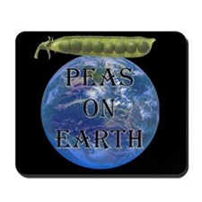 Peas on Earth Mousepad