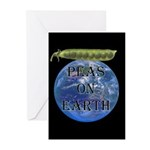 Peas on Earth Greeting Cards (Pk of 10)