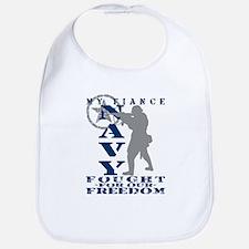 Fiance Fought Freedom - NAVY  Bib