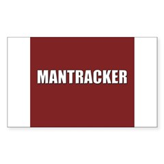Mantracker Rectangle Decal