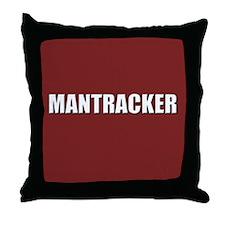 Mantracker Throw Pillow