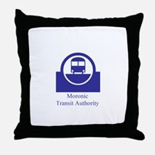 Moronic MTA Throw Pillow