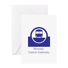 Moronic MTA Greeting Card
