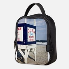 Unique Beach patrol Neoprene Lunch Bag