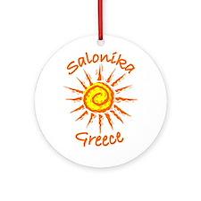 Salonika, Greece Ornament (Round)