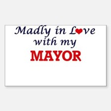 Madly in love with my Mayor Decal