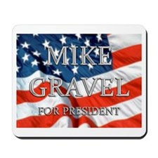 Mike Gravel Mousepad