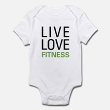 Live Love Fitness Infant Bodysuit