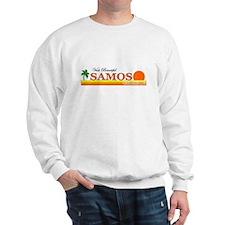 Visit Beautiful Samos, Greece Sweatshirt