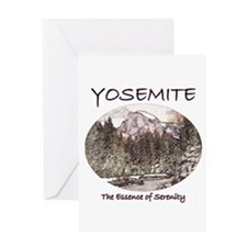 Yosemite:Serenity Greeting Card