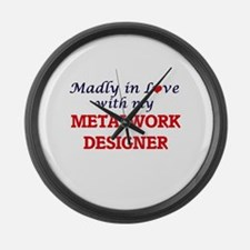 Madly in love with my Metalwork D Large Wall Clock