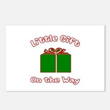 Little Gift -Christmas Postcards (Package of 8)
