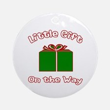 Little Gift -Christmas Ornament (Round)