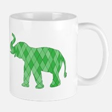 Geometric Elephant Mugs