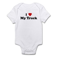I Love My Truck Infant Bodysuit