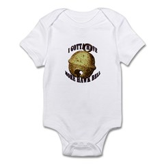 More Hawk Bell Infant Bodysuit